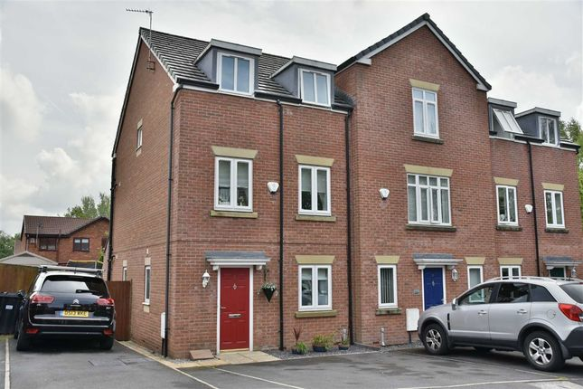 Thumbnail Town house for sale in Heathlea Gardens, Hindley Green, Wigan
