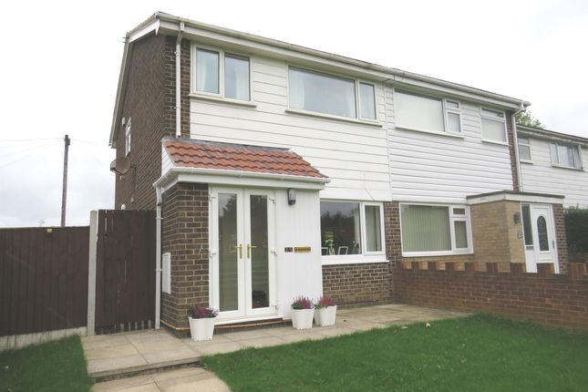 Thumbnail Semi-detached house for sale in Croftside Close, Leeds