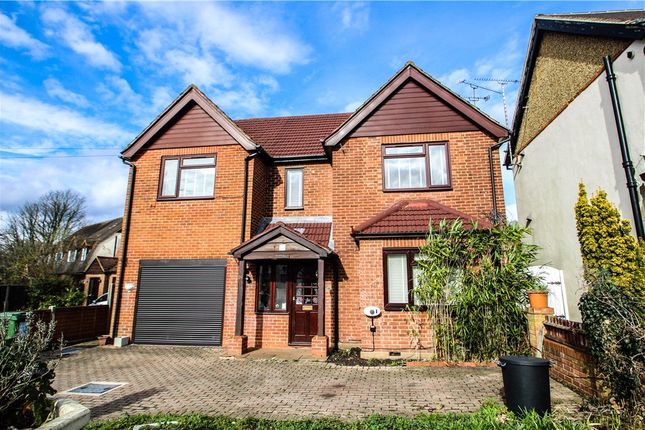Thumbnail Detached house for sale in The Hatches, Frimley Green, Camberley, Surrey