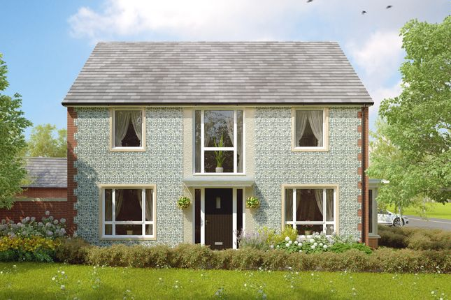 "Thumbnail Detached house for sale in ""The Enford "" at Amesbury Road, Longhedge, Salisbury"