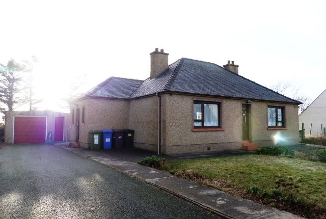 Thumbnail Detached bungalow for sale in 26 Constable Road, Stornoway, Isle Of Lewis