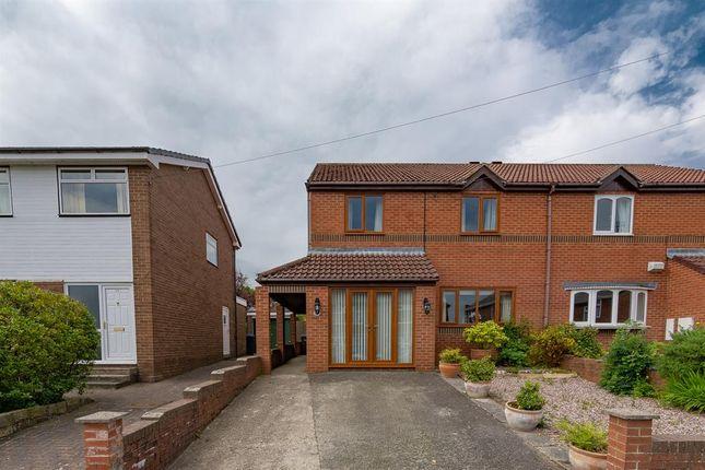 Thumbnail Semi-detached house for sale in Alston Terrace, Consett