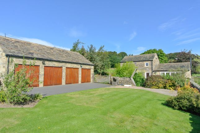 Thumbnail Barn conversion for sale in Hall Ing Road, Thurstonland, Huddersfield