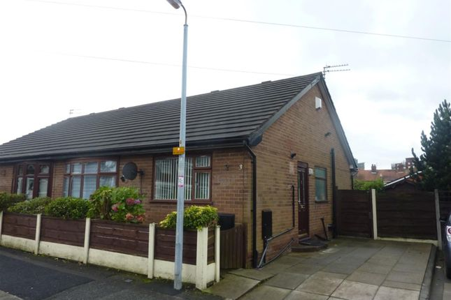 Thumbnail Semi-detached bungalow to rent in Renshaw Avenue, Eccles, Manchester