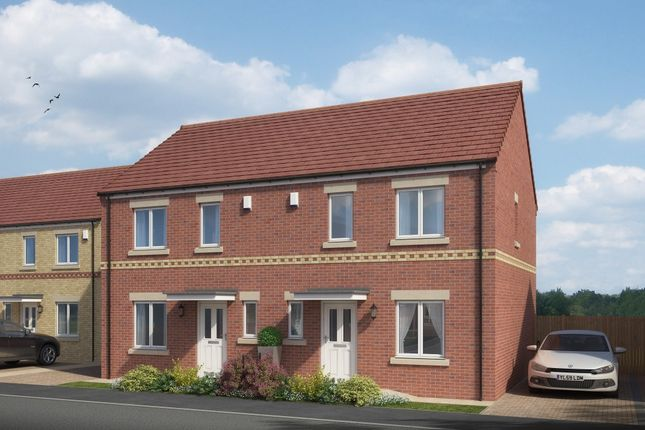 Thumbnail End terrace house for sale in Bedford Sidings, South Church Road, Bishop Auckland, County Durham