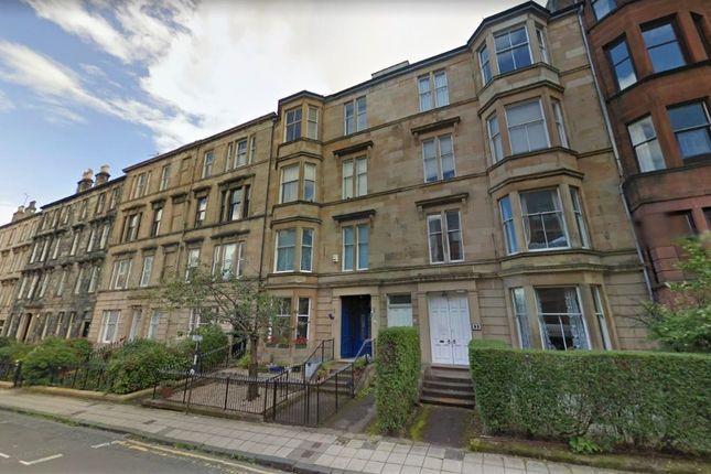 Thumbnail Flat to rent in Kersland Street, Hillhead, Glasgow