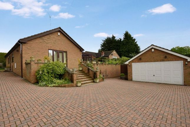 Thumbnail Detached bungalow to rent in The Abbes Close, Burghwallis, Doncaster