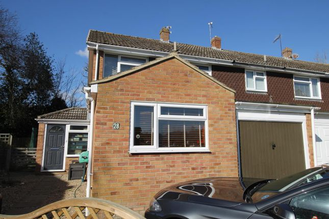 Thumbnail End terrace house to rent in Woodfield End, Layer De La Haye, Colchester