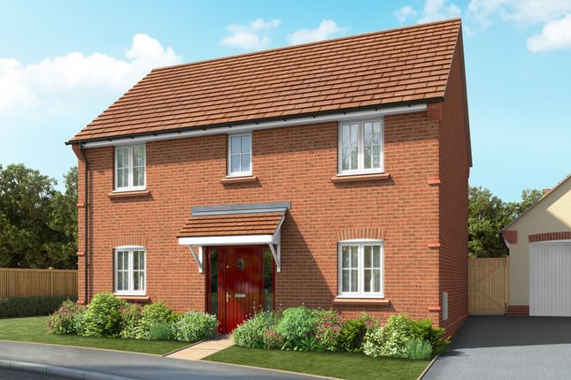"Thumbnail Detached house for sale in ""The Clarence"" at Elers Way, Thaxted, Dunmow"