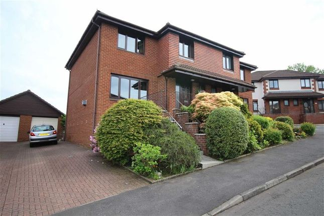 Thumbnail Semi-detached house for sale in Dungourney Drive, Greenock, Renfrewshire
