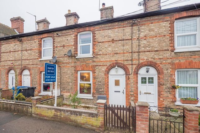 3 bed terraced house for sale in Long Melford, Sudbury, Suffolk