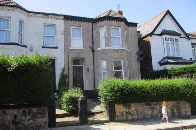 Thumbnail Flat to rent in Ravenscroft Road, Prenton