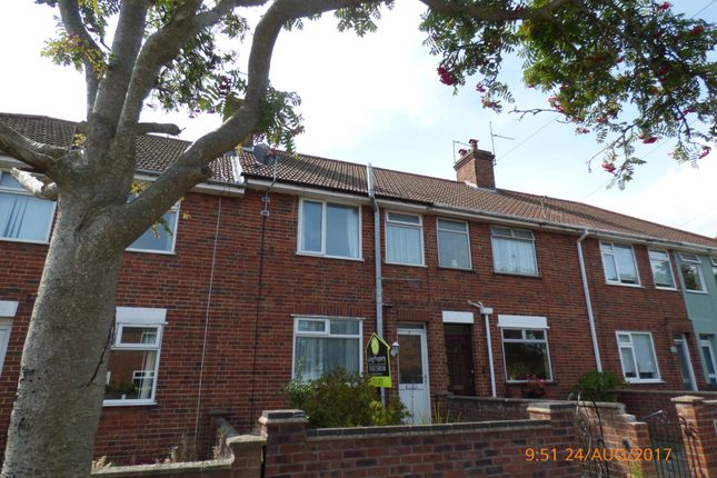 Thumbnail Terraced house to rent in Ashley Downs, Lowestoft