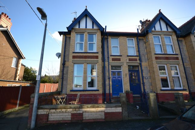 Thumbnail End terrace house to rent in Gele Avenue, Abergele