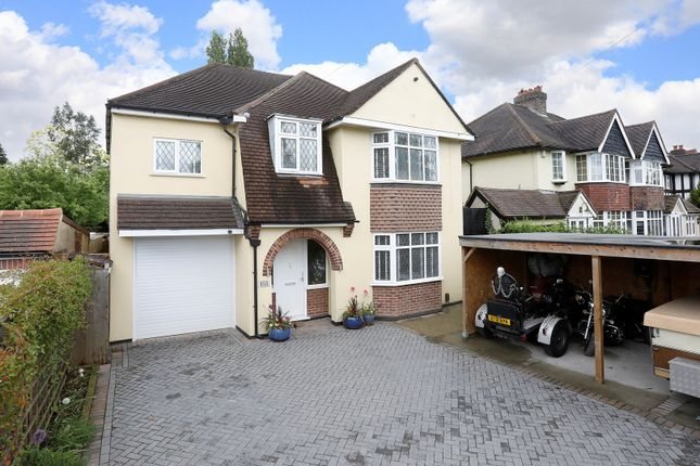 Thumbnail Detached house for sale in Wickham Road, Shirley