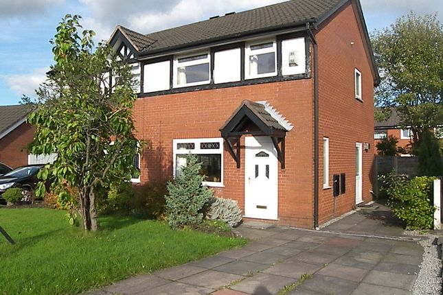 Thumbnail Semi-detached house to rent in Weavers Green, Farnworth