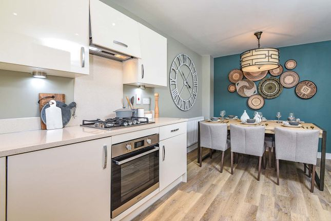 "Typical Kitchen of ""The Eveleigh"" at Celsea Place, Cholsey, Wallingford OX10"
