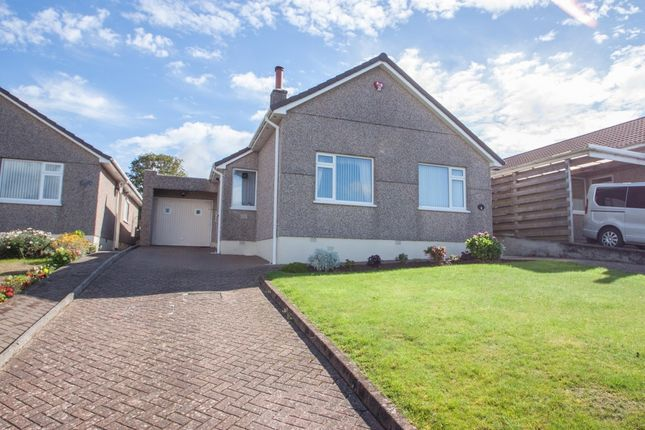 Thumbnail Detached bungalow for sale in Corsham Close, Plymouth
