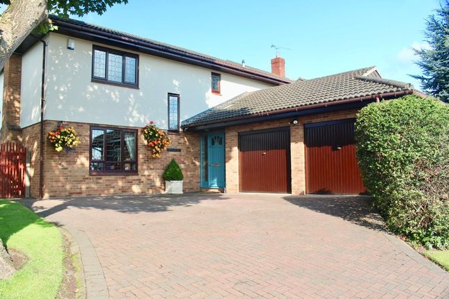 Thumbnail Detached house for sale in Clarendon Close, Belgrave Park, Chester