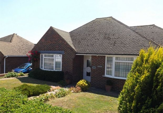 Thumbnail Detached bungalow to rent in Laburnum Gardens, Bexhill-On-Sea, East Sussex
