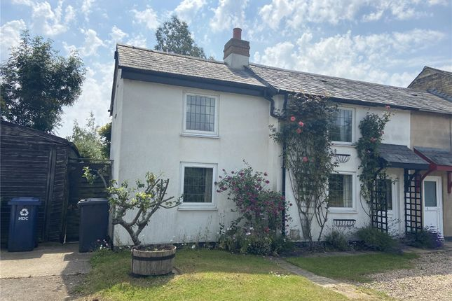Thumbnail End terrace house to rent in The Town, Great Staughton, St. Neots