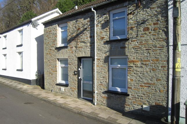 Thumbnail Terraced house for sale in Deri Newydd, Deri