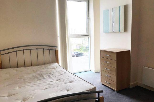Bedroom of City Loft, The Quays, Salford Quays M50