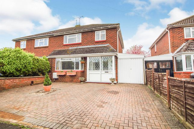 Thumbnail Semi-detached house for sale in Meadow Road, Henley-In-Arden