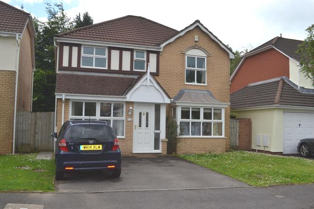 Thumbnail Detached house for sale in Maes Y Briallu, Morganstown, Cardiff