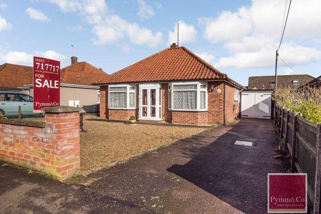 Thumbnail Detached bungalow for sale in Lonsdale Road, Rackheath, Norwich