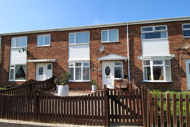 Thumbnail Terraced house for sale in Fountains Close, Whitby, North Yorkshire