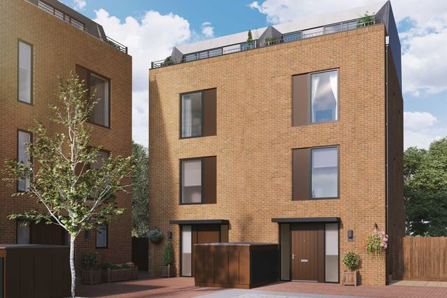 Thumbnail Semi-detached house for sale in Quayle Crescent, Whetstone, London