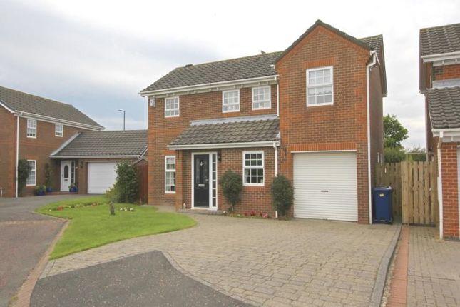 Thumbnail Detached house for sale in Alcroft Close, Abbey Grange, Newcastle Upon Tyne