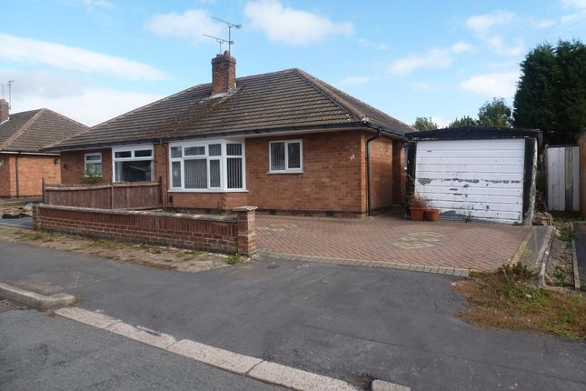 Thumbnail Bungalow to rent in Davenport Avenue, Oadby, Leicester