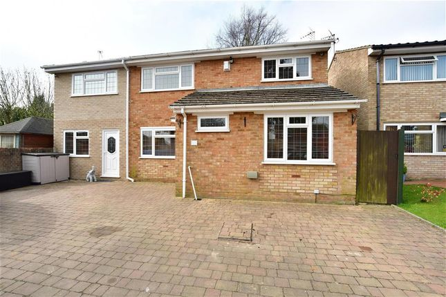 Thumbnail Detached house for sale in Duchess Close, Strood, Rochester, Kent