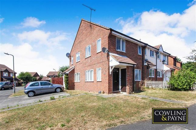 Thumbnail End terrace house for sale in Doeshill Drive, Wickford, Essex