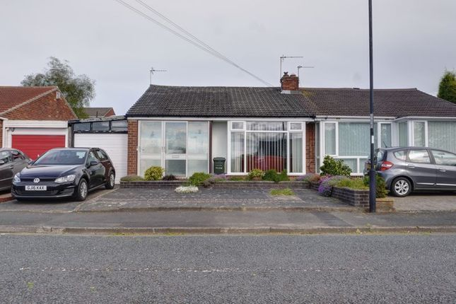 Thumbnail Semi-detached bungalow for sale in Chadderton Drive, Chapel House, Newcastle Upon Tyne