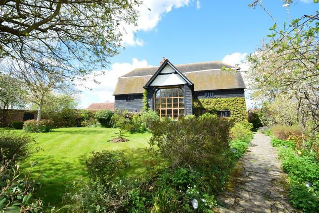 Thumbnail Barn conversion for sale in Clare, Sudbury, Suffolk