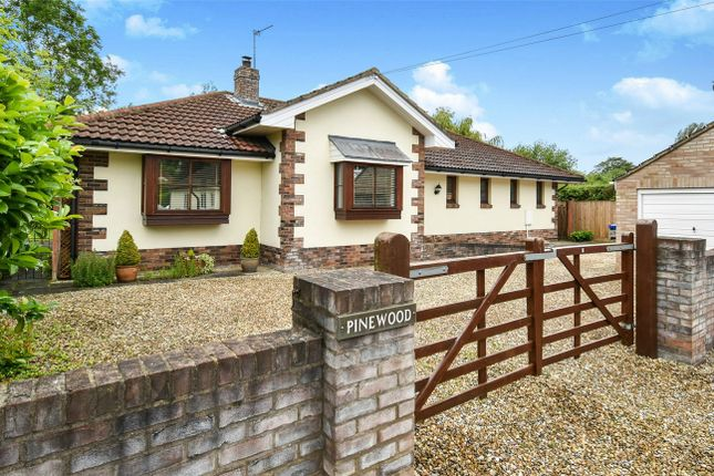 Thumbnail Detached bungalow for sale in Lords Moor Lane, Strensall, York