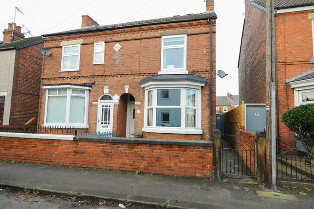 Thumbnail Semi-detached house for sale in York Street, Hasland, Chesterfield