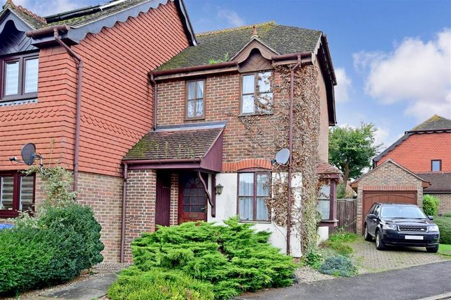 Thumbnail End terrace house for sale in Lakers Meadow, Billingshurst, West Sussex