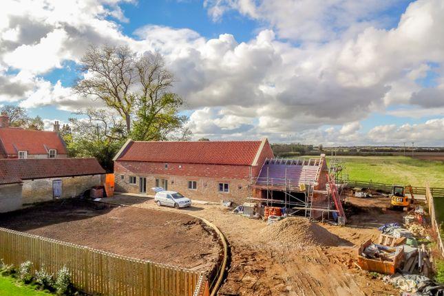 Thumbnail Barn conversion for sale in Church Lane, Kirkby-La-Thorpe, Sleaford