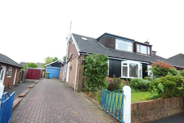 Thumbnail Semi-detached house to rent in Brellafield Drive, Shaw, Oldham