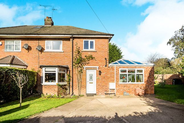 Thumbnail Semi-detached house for sale in Woodfields, Christleton, Chester