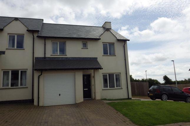 Thumbnail Semi-detached house for sale in Ridgeway Green, High Bickington, Umberleigh