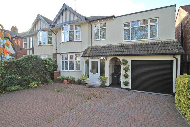 Thumbnail Semi-detached house for sale in Grange Road, Woodthorpe, Nottingham