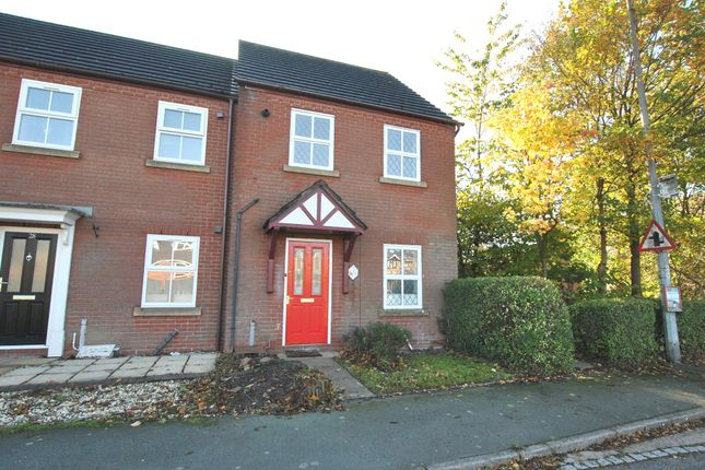Thumbnail End terrace house for sale in Bank Way, Ketley Bank, Telford, Shropshire
