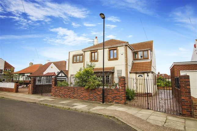 Thumbnail Detached house for sale in Grange Park, Whitley Bay, Tyne And Wear