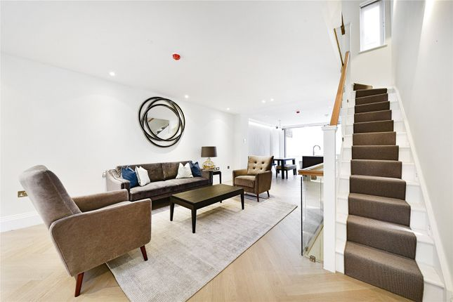 3 bed terraced house to rent in Cheval Place, Knightsbridge, London SW7