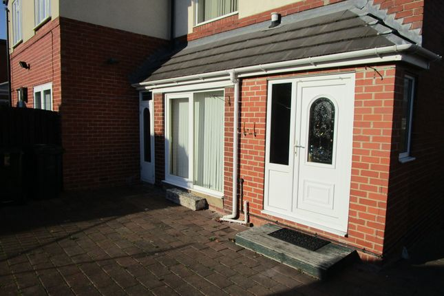 Rear Patio of Scrooby Street, Greasborough, Rotherham S61